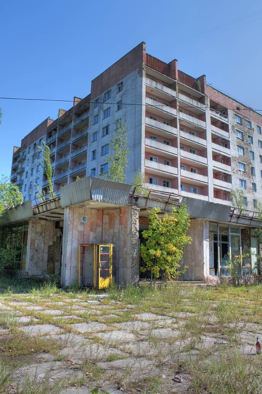 Pripyat apartment block