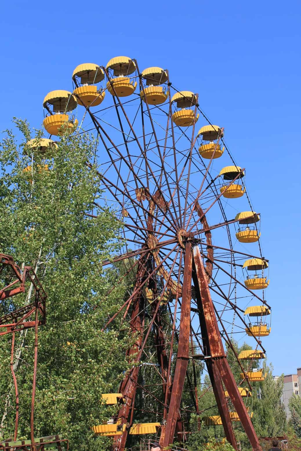 The famous Pripyat ferris wheel