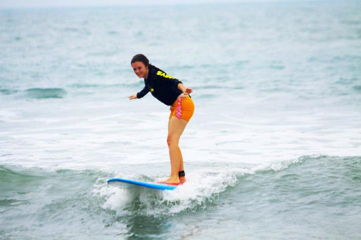 surfing in kuta