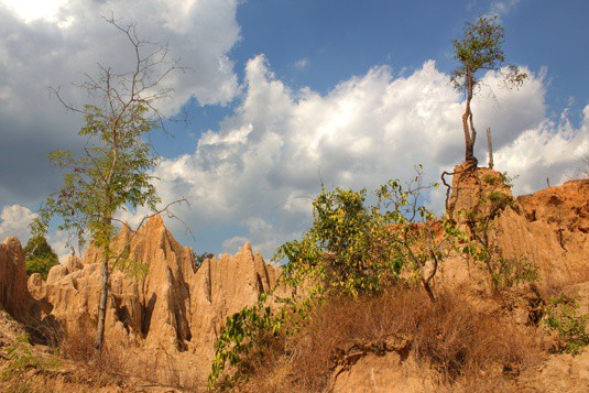 wiang sa rock formations