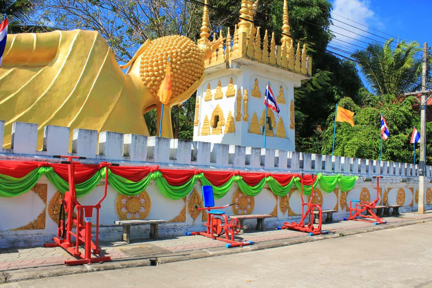 Monk Gym in Phrae