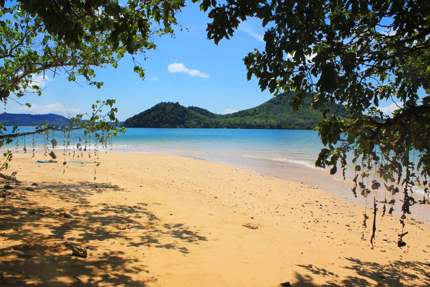 The beach on nearby Koh Nok
