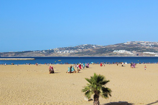 beach in tangier