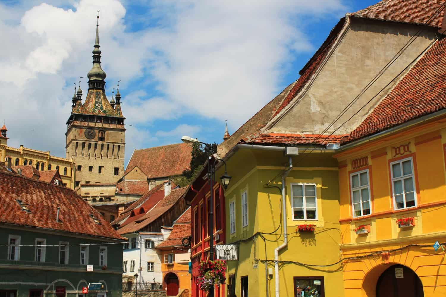 Falling In Love With Sighisoara on tiny houses