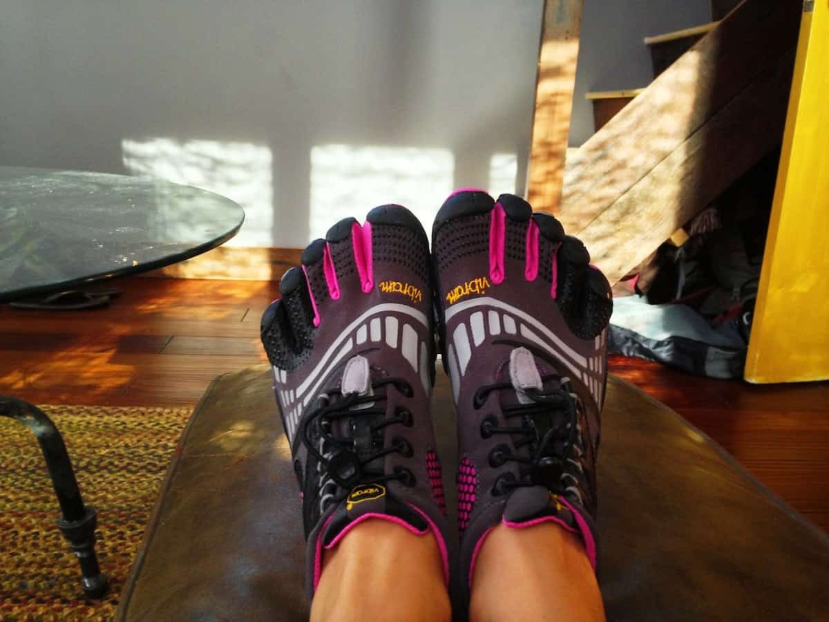 Lauren loves Vibrams