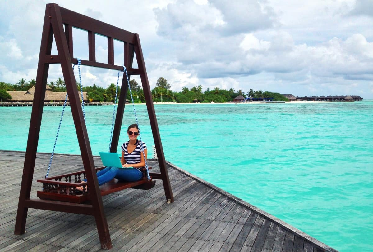 Working in the Maldives: surprisingly easy!