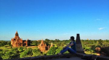 Lauren in Bagan