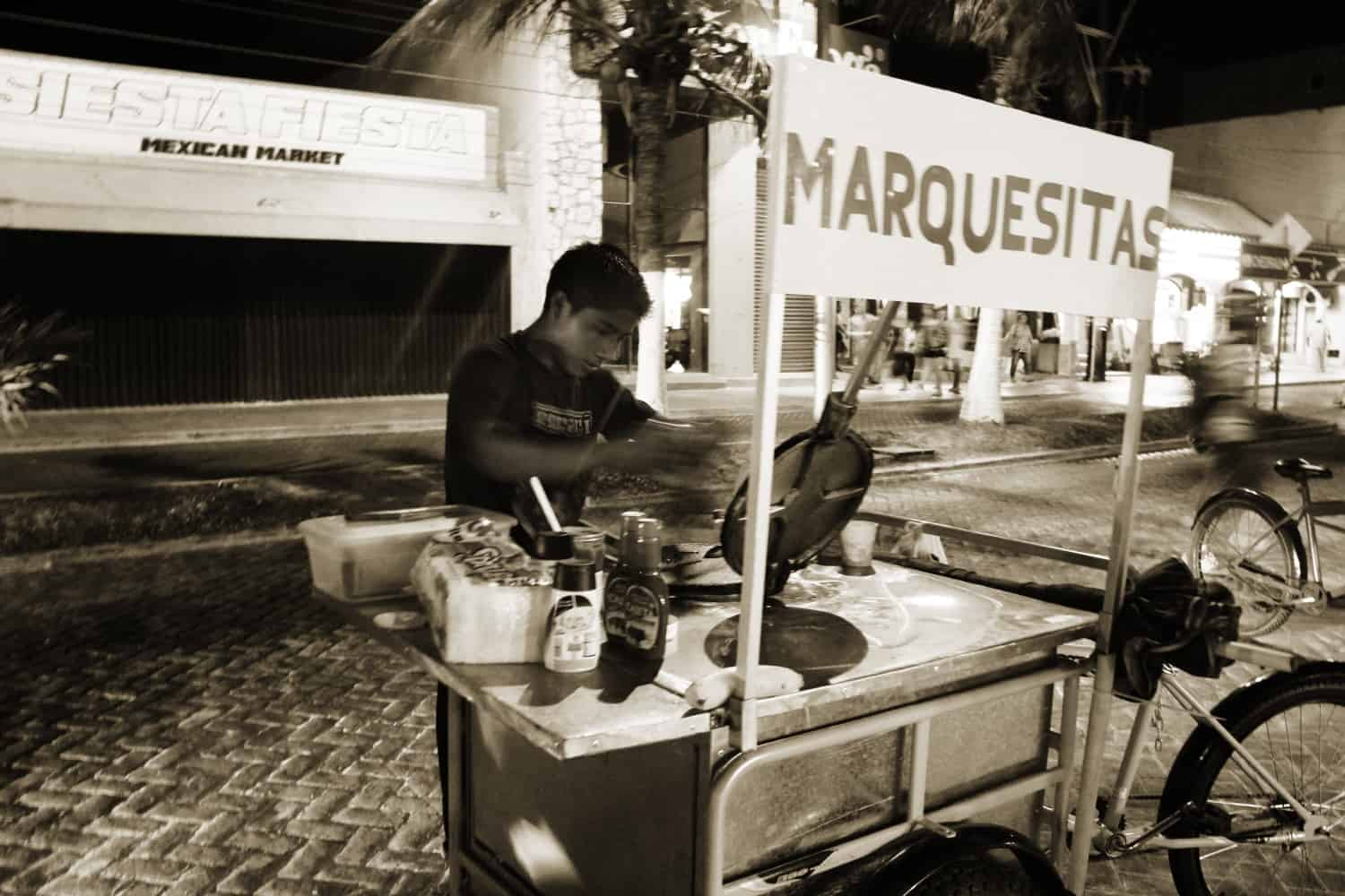 Street food in Isla Mujeres