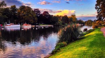 River Thames at Sunset