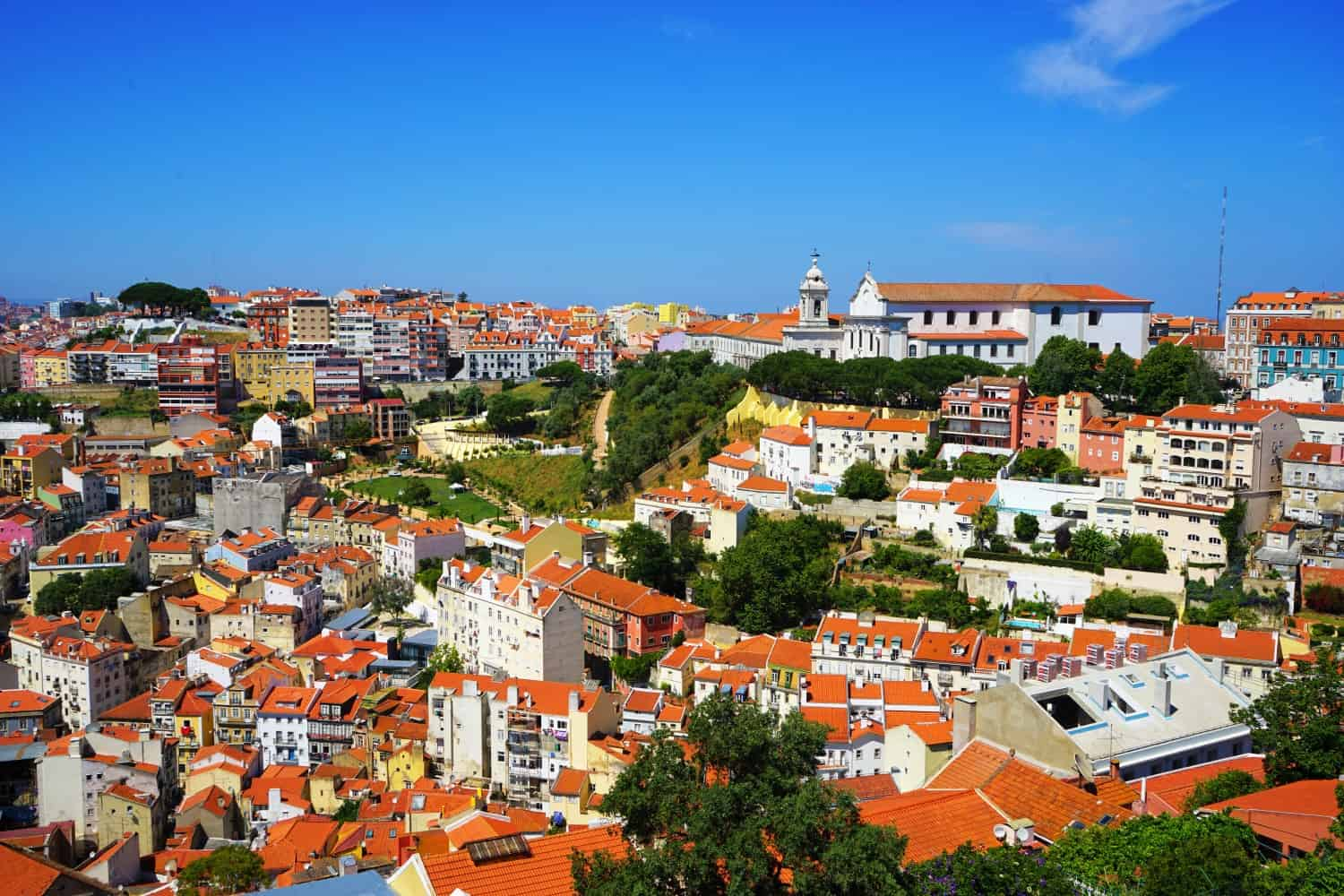 Lisbon castle views