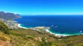 From the top of Lions Head