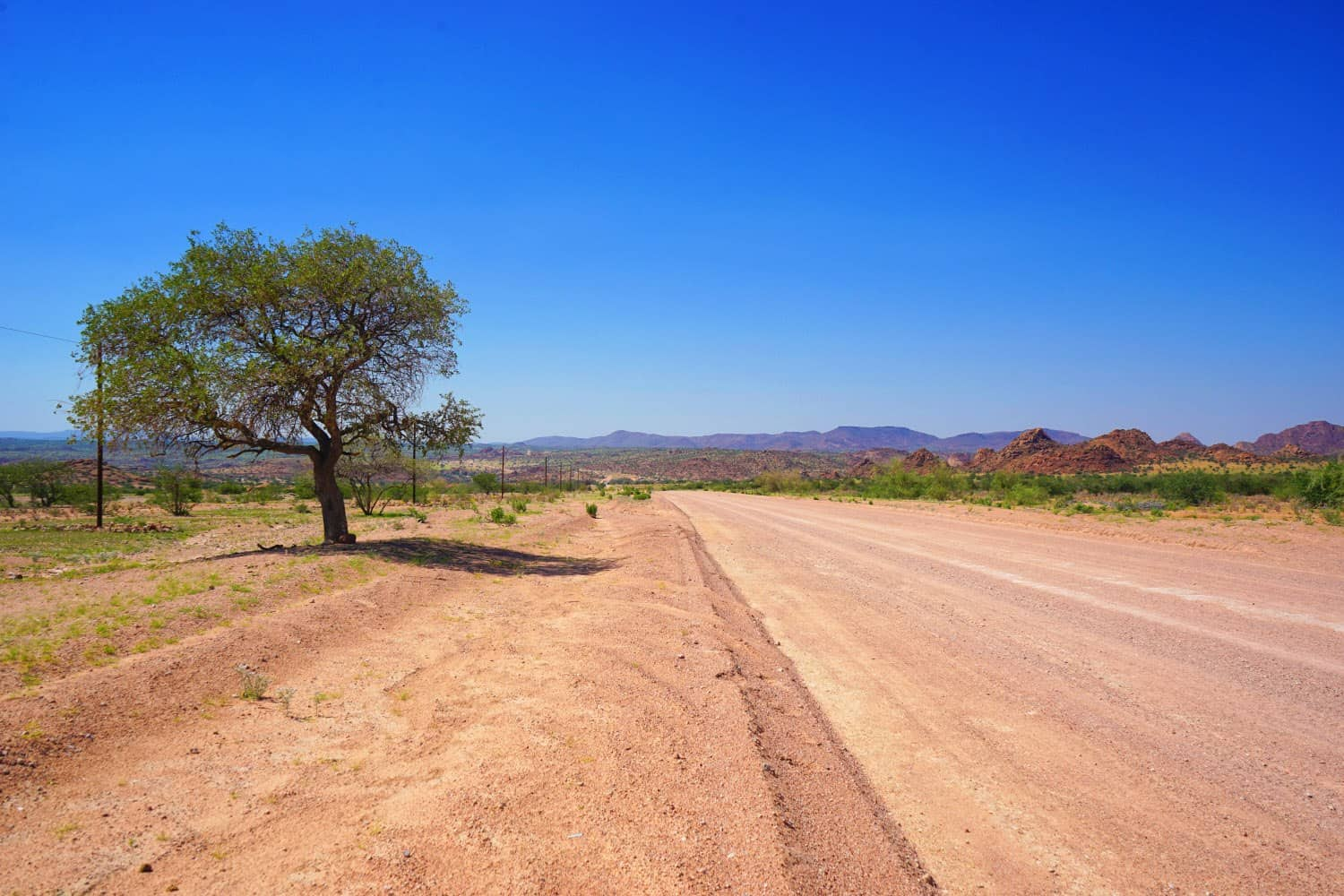 Road in Damaraland, Namibia