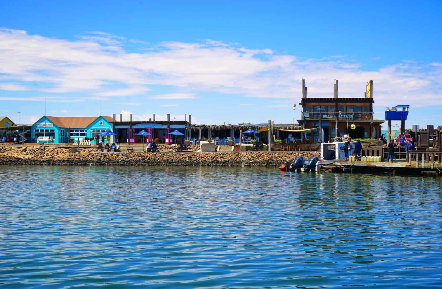 Walvis Bay from the water