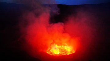 Mount Nyiragongo lava lake