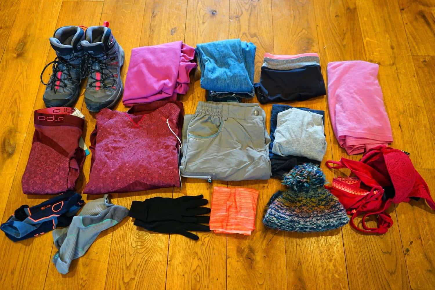 Packing for Virunga National Park