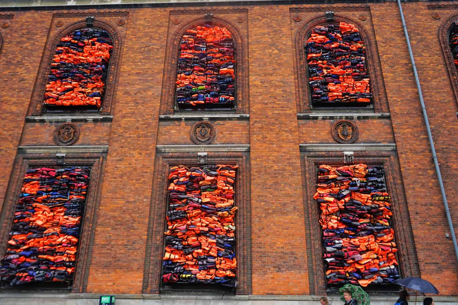 Life jackets at Nyhavn