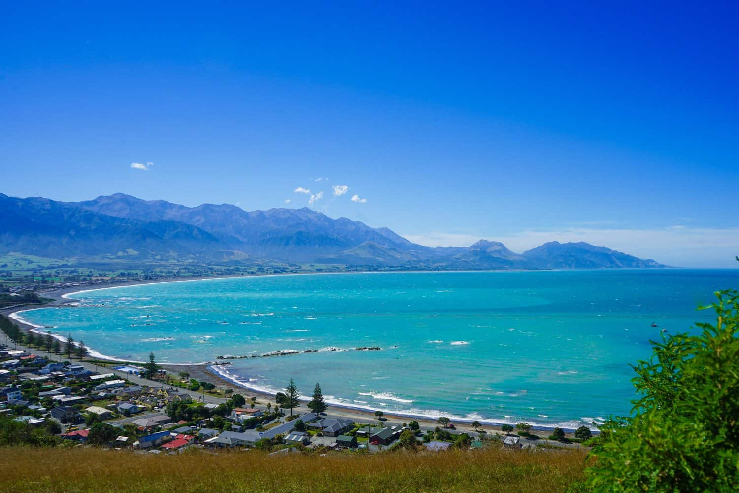 Kaikoura from above