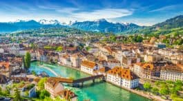 Lucerne from above