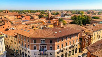 Ferrara from above